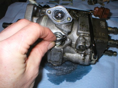 Diesel injection timing effects
