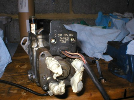 Bosch Injection Pump Armour Removal