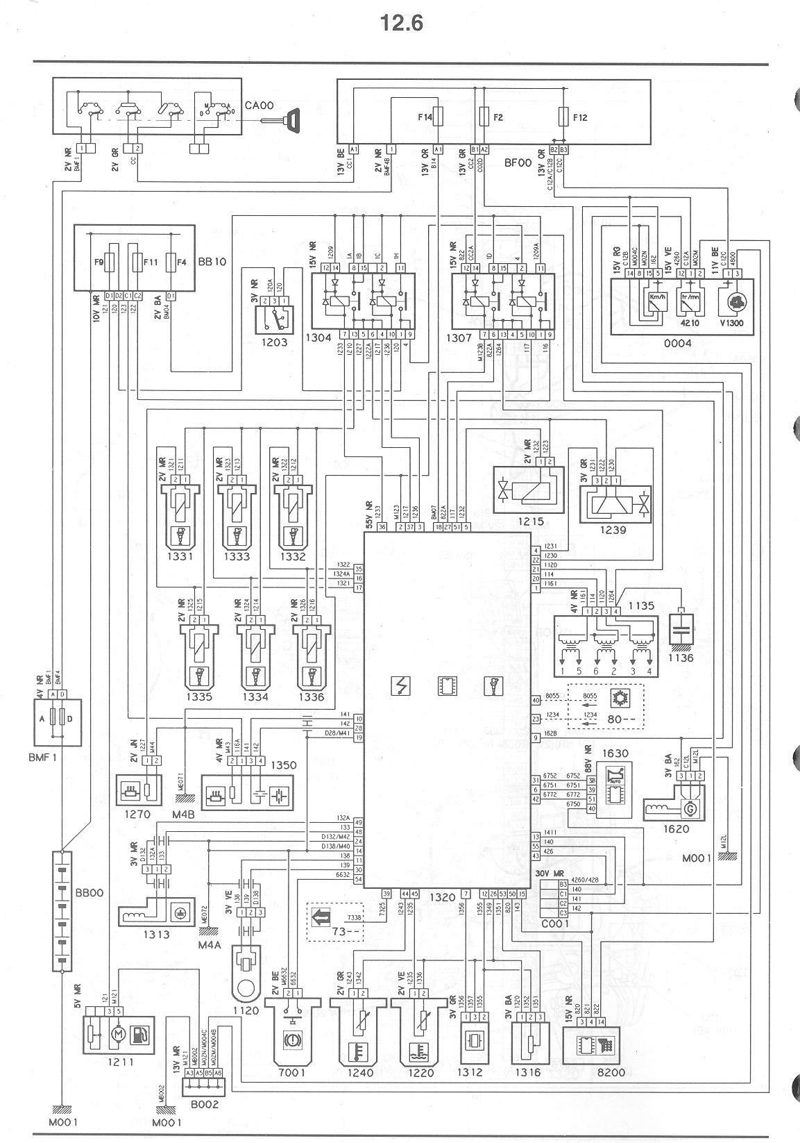 Citroen xm forum view topic wiring diagram for keypad xantia v6 engine ecu circuit asfbconference2016 Gallery