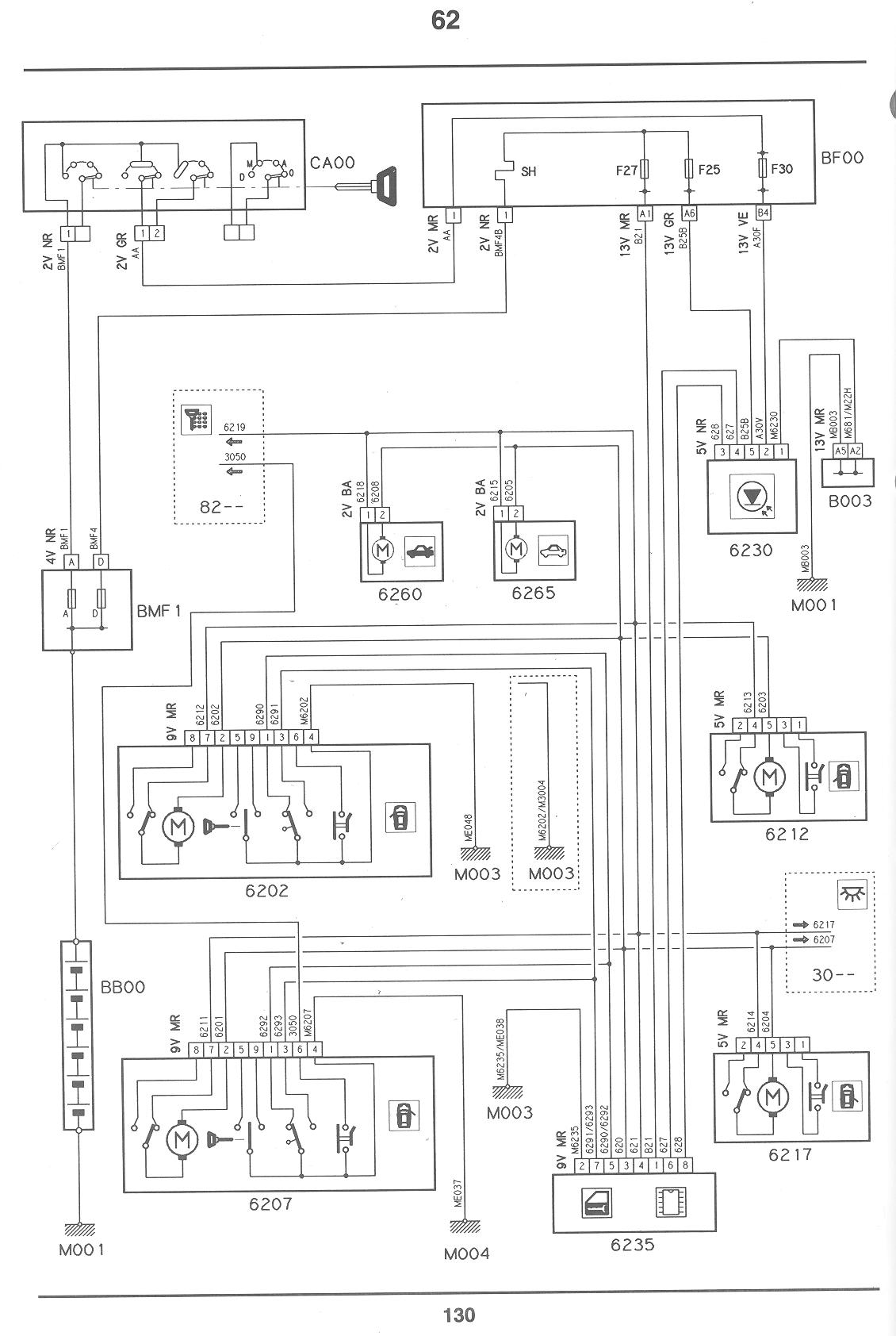 citroen door wiring diagram  | 1200 x 1762