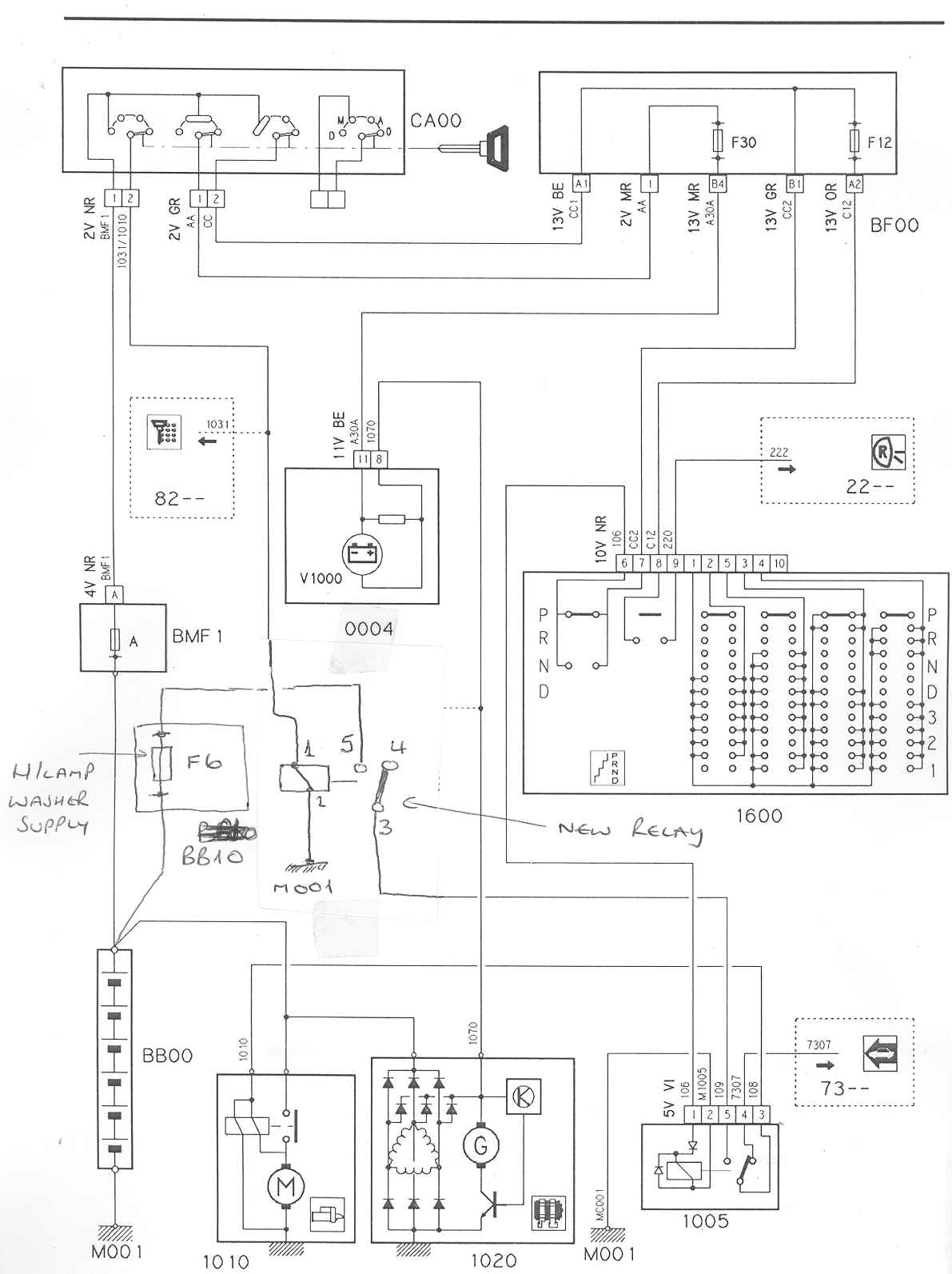 Wiring Diagram For Citroen Relay : Non cranking on td citroen xm forum